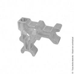 Pièces d'assemblage pour portail aluminium et composite
